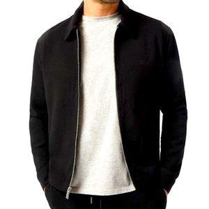 Relaxed Men's Colar Zip Jacket